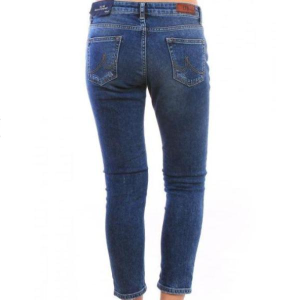 rear view ltb denim eliana daphne wash ankle length