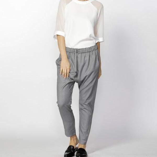 Mabelle Drop Crotch Pant