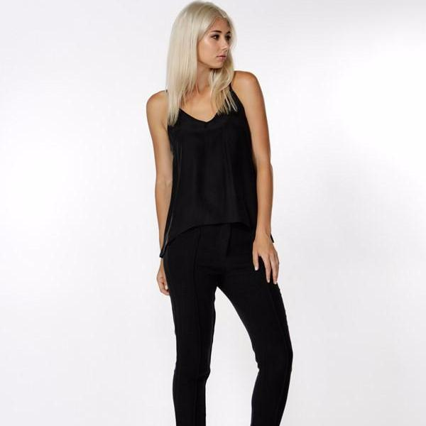 The silk cami-top-Fate & Becker-black-8-Style Kit