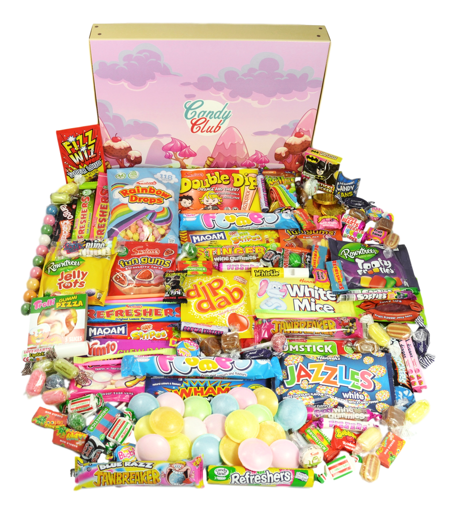 Mega Retro Sweet Box