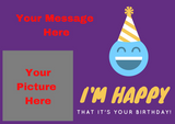 Happy Birthday Gift Card 13