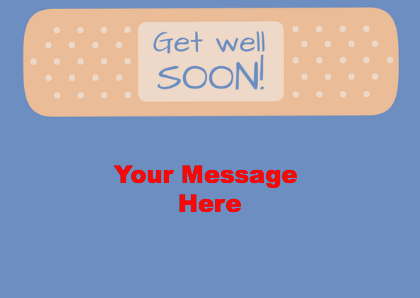Get Well Soon Gift Card 2.