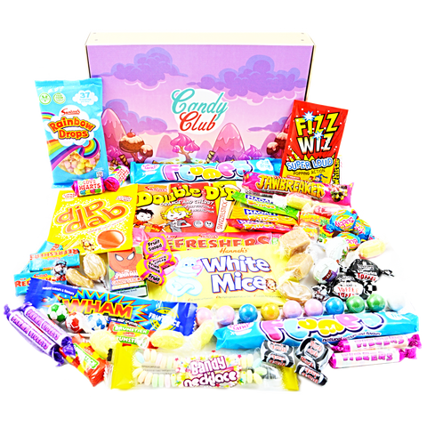 Little Retro Sweet Hamper Gift Box