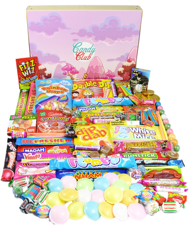 Super Retro Sweet Hamper Gift Box