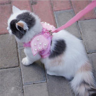 Angel Wings Cat Safety Harness