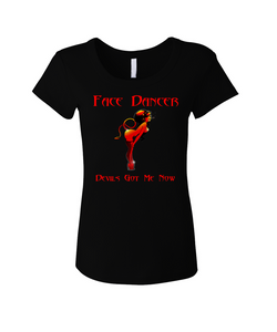 Devil - Ladies BL Fitted T-Shirt
