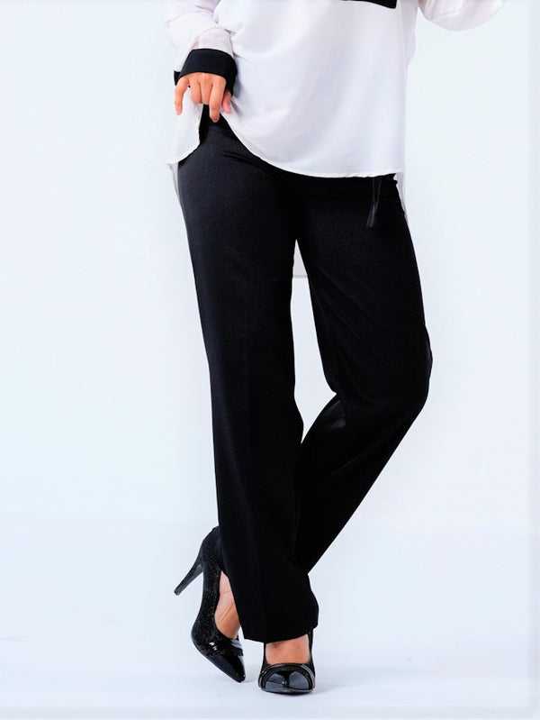 Premium Formal Pants - Black - 203
