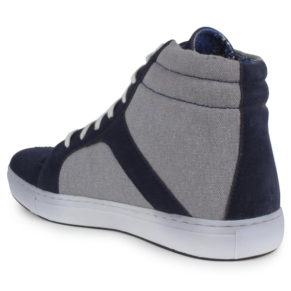 Blue-Grey Casual Shoes