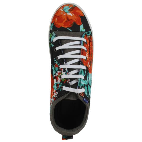 Printed Lace-Up Shoes