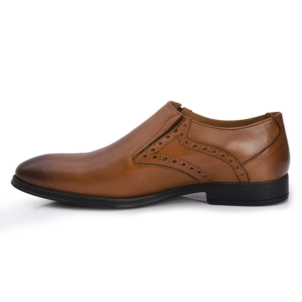 Tan Leather Shoe