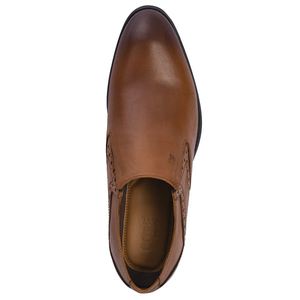 Slip-On Leather Shoe