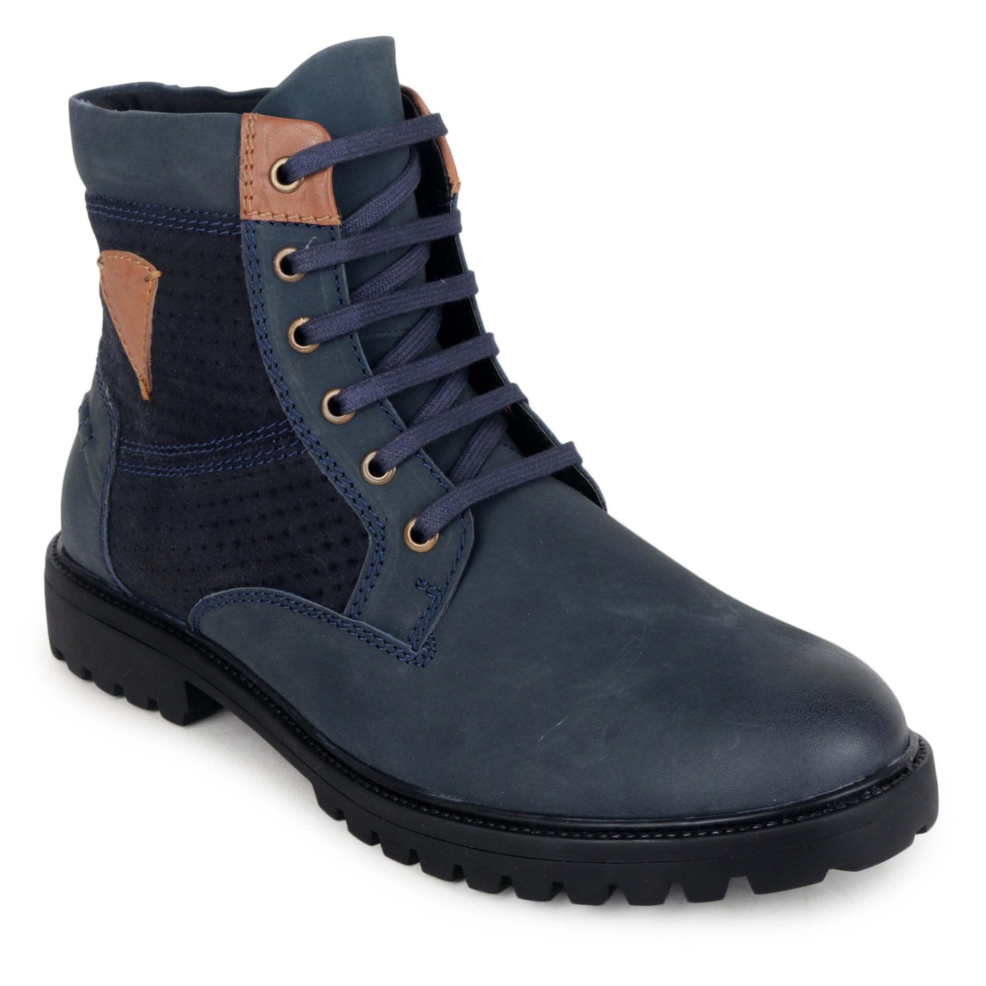 YZFeet Mens Boots Leather shoes