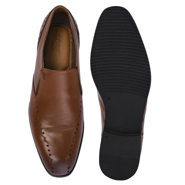 Tan Formal Leather Shoe