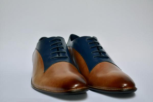 Leather Brown Mens Oxford