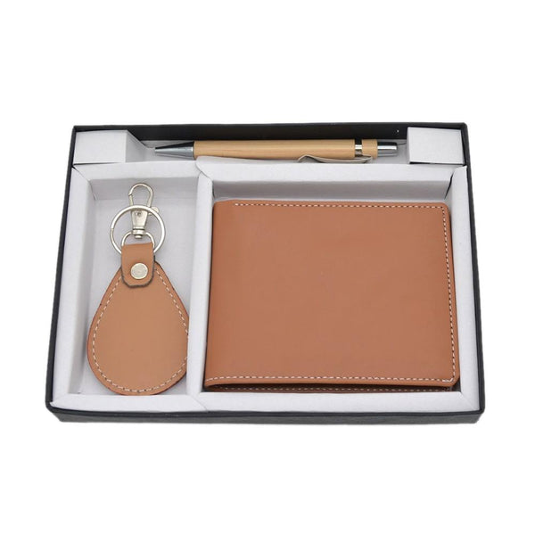 3 in 1 Leatherette Gift Set