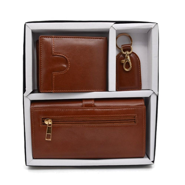 3 in 1 Leatherette Gift Set for Men & Women