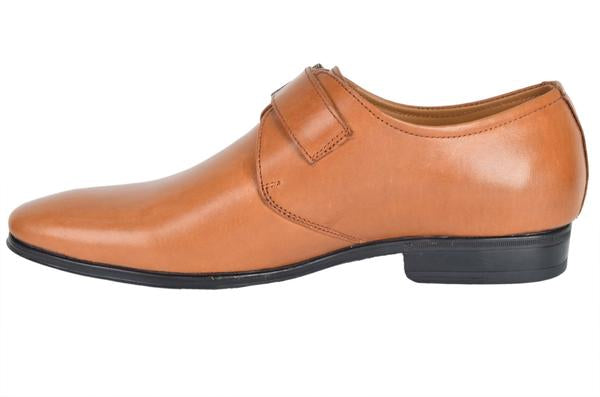 Tan Monk Shoe