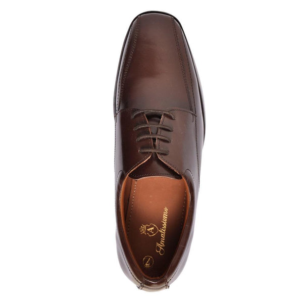 Brown Derby Shoes for Men