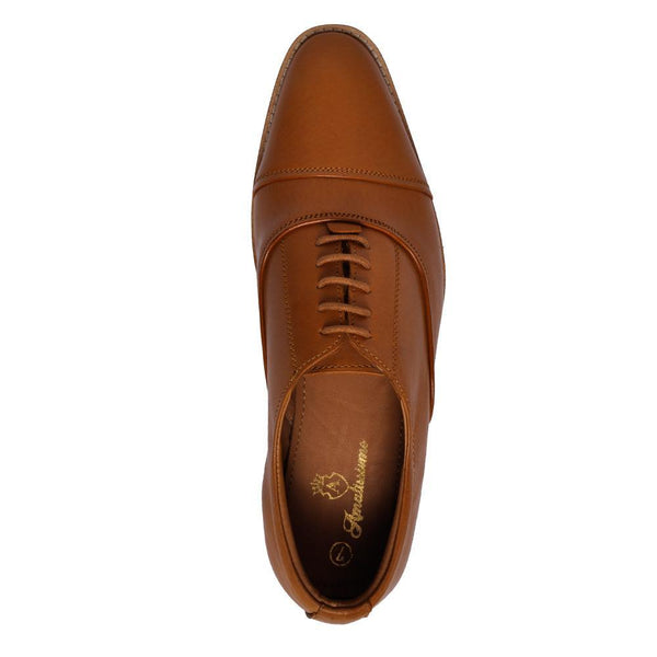 Tan Crust  Leather Shoes