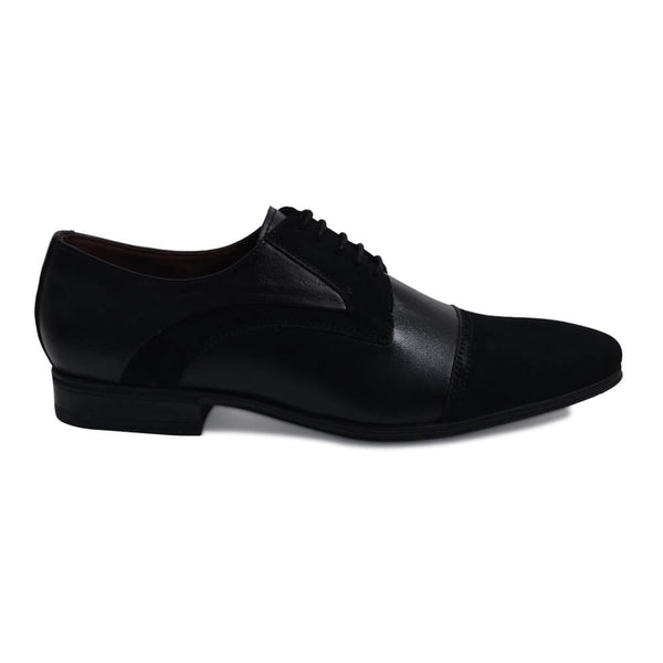 Derby formal shoes-Black