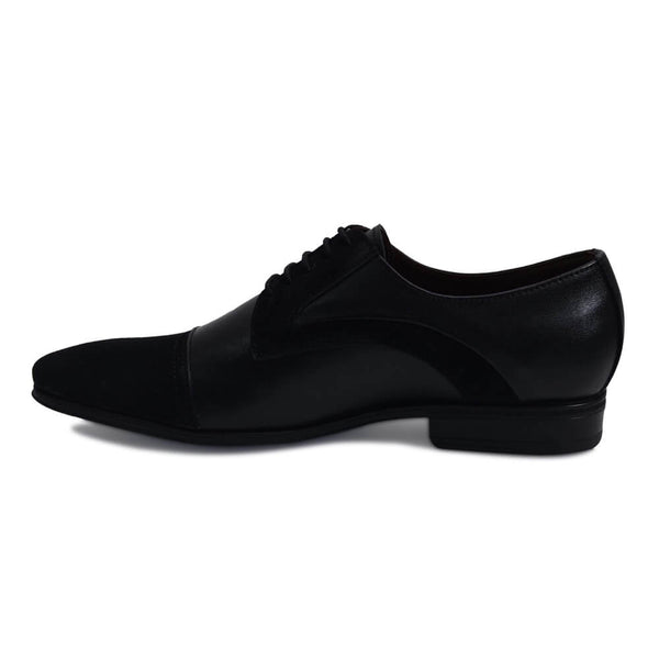 Pure leather Derby formal shoes