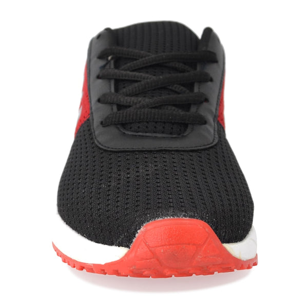 Black-Red Casual Shoes