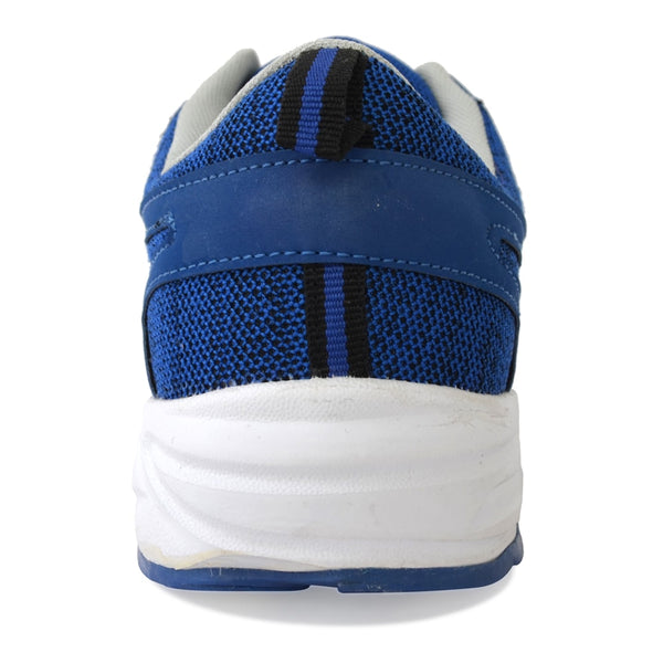 Blue Lace-Up Sneakers Shoes
