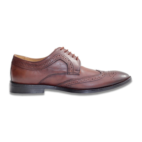 Brown Formal Leather Brogues Shoes