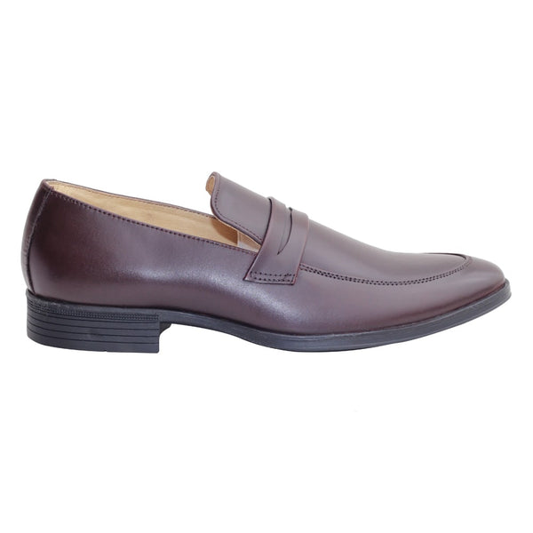 Brown Genuine Leather Moccasin Shoes