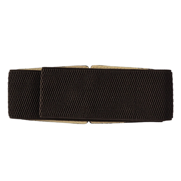 Brown Synthetic Leather Women's Belt
