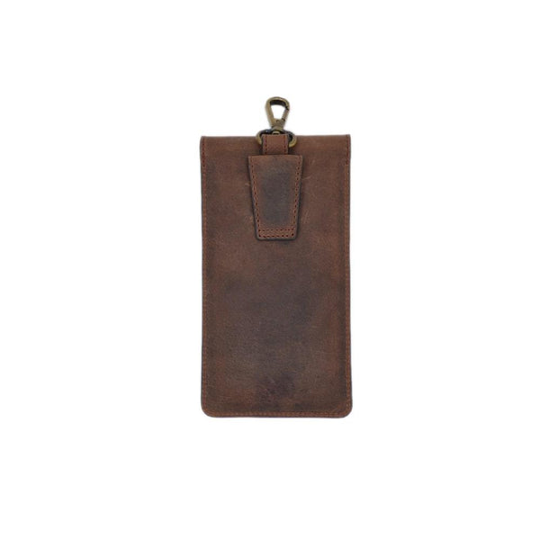 Horse Leather Brown Laptop Pouch