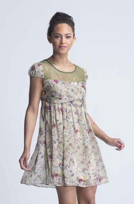Amore Olive English Garden Tea Party Dress - Women Dresses - yz-buyer.myshopify.com