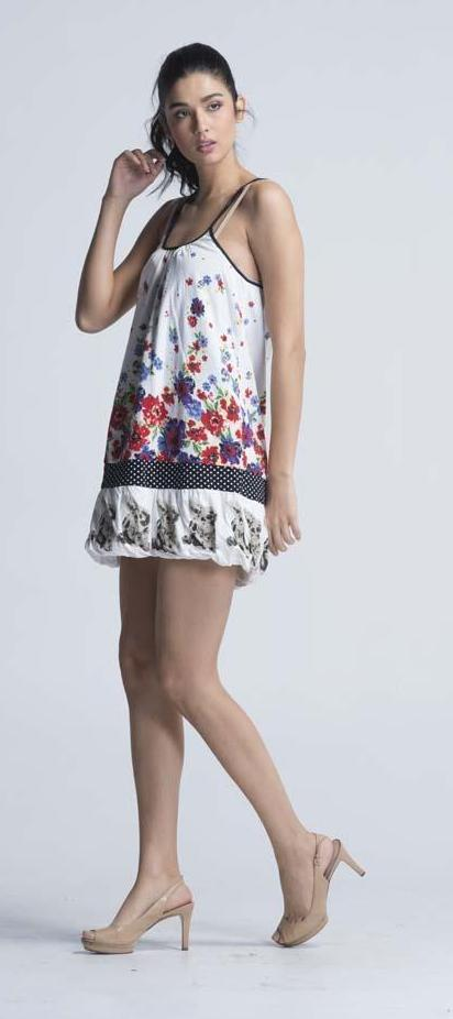 Scolar 'Alice in Wonderland' Summer Dress - Women Dresses - yz-buyer.myshopify.com