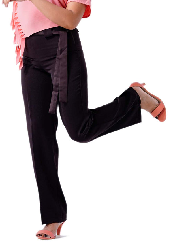 Premium Stretch Formal Trousers - Brown - 103