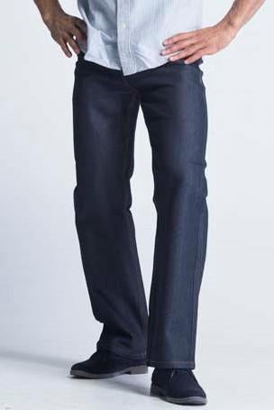 Kayden.K California Loose Fitted Jeans - Indigo with Topaz Copper Thread Lining - Mens Jeans - yz-buyer.myshopify.com