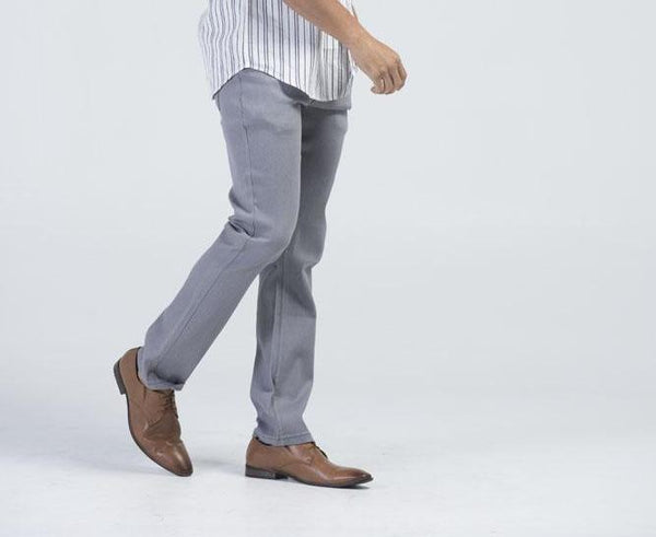 Kayden.K California Slim fit Jeans - Grey