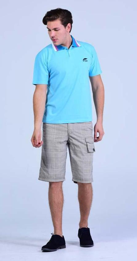 Marc Ecko Cut & Sew Cargo Type Shorts - Off-white, brown dotted - Men Shorts - yz-buyer.myshopify.com