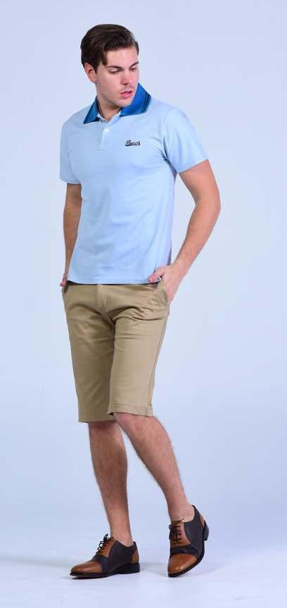Losacos slim fit - Khaki shorts - Men Shorts - yz-buyer.myshopify.com