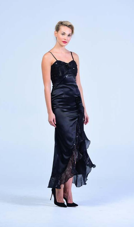 Black Sweetheart Corset Strappy Evening Gown - Women Dresses - yz-buyer.myshopify.com