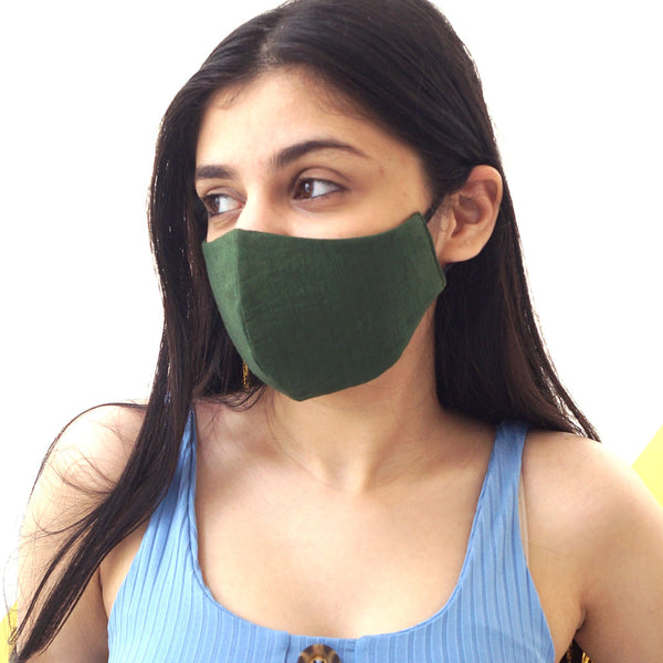Unisex Multicoloured Pack of 2 Printed Reusable Protective Face Masks