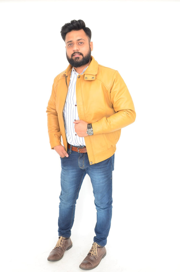 Yellow color Jacket