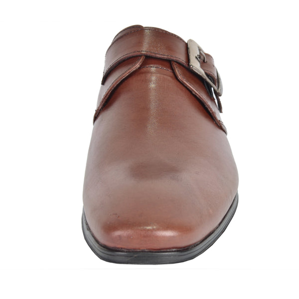 Mens Leather Monk Shoe