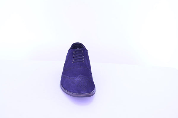Suede Oxford Brogues Shoes