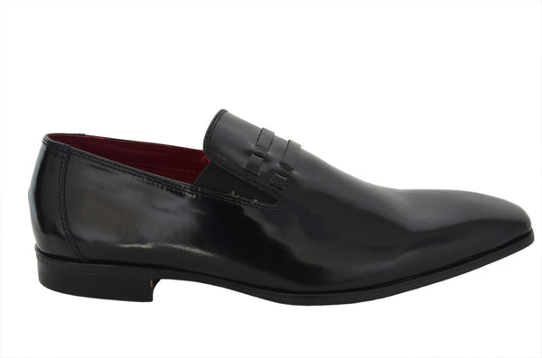 Black Loafer Shoe