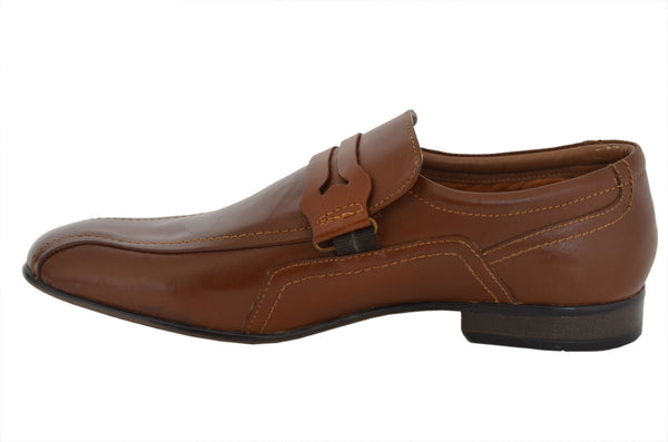 Formal tan Loafer Shoe