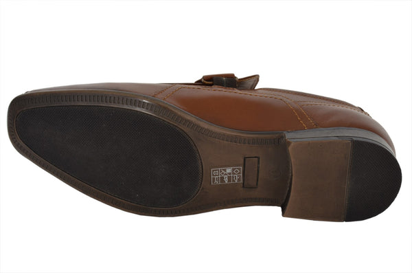 Formal Tan Loafers - Ring Strap