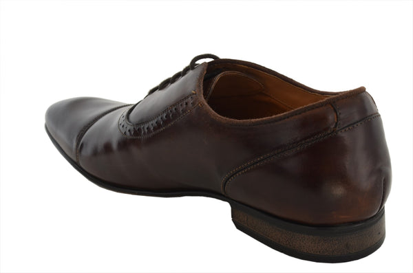 Tan Oxfords Shoe