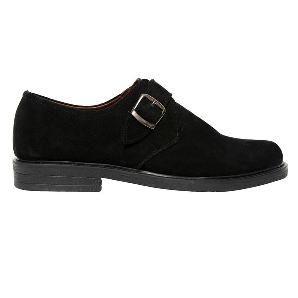 Amatissimo Black Suede Leather Shoes
