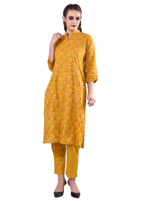 Women's Kurta With Trousers