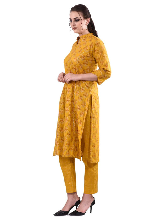 Ethnic Kurta With Trousers